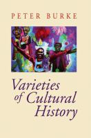 Cover image for Varieties of cultural history.