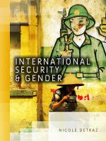 Cover image for International security and gender