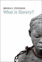 Cover image for What is slavery?