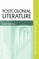 Cover image for Postcolonial Literature