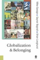 Cover image for Globalization and belonging