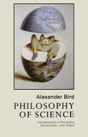 Cover image for Philosophy of science.