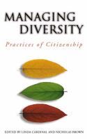 Cover image for Managing Diversity Practices of Citizenship