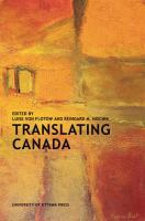 Cover image for Translating Canada