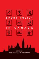 Cover image for Sport Policy in Canada