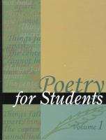 Cover image for Poetry for students.