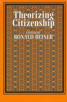Cover image for Theorizing citizenship