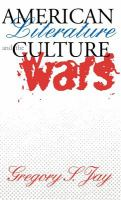 Cover image for American literature & the culture wars