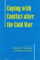 Cover image for Coping with conflict after the Cold War
