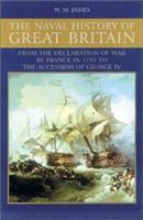 Cover image for The naval history of Great Britain : during the French revolutionary and Napoleonic wars