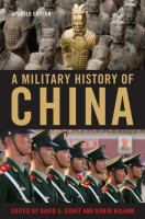 Cover image for A Military History of China