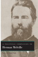 Cover image for A Political Companion to Herman Melville
