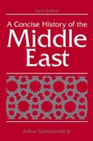 Cover image for A concise history of the Middle East
