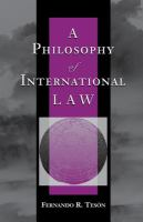 Cover image for A philosophy of international law