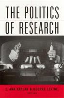 Cover image for The politics of research