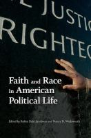 Cover image for Faith and race in American political life