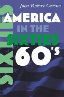 Cover image for America in the Sixties