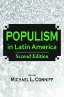 Cover image for Populism in Latin America