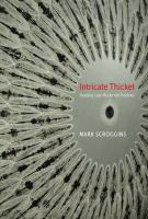 Cover image for Intricate thicket reading late modernist poetries