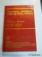 Cover image for National interest and global goals