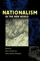 Cover image for Nationalism in the New World