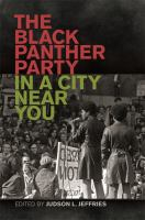 Cover image for The Black Panther Party in a City near You