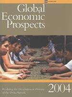 Cover image for Global economic prospects.