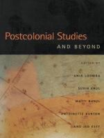 Cover image for Postcolonial studies and beyond
