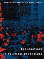 Cover image for Explorations in political psychology