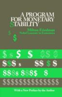 Cover image for A program for monetary stability.