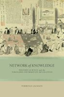 Cover image for Network of Knowledge Western Science and the Tokugawa Information Revolution