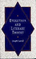 Cover image for Evolution and literary theory