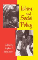 Cover image for Islam and social policy