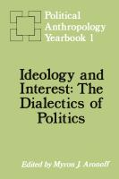 Cover image for Political anthropology yearbook