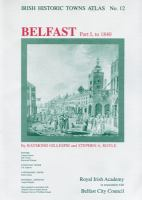 Cover image for Irish historic towns atlas
