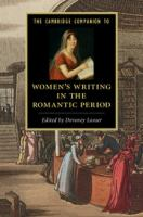 Cover image for The Cambridge companion to Women's writing in the Romantic period