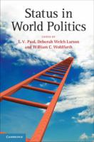 Cover image for Status in world politics
