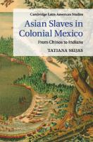 Cover image for Asian slaves in colonial Mexico : from chinos to Indians