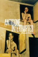 Cover image for Antigone, interrupted