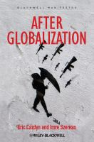 Cover image for After Globalization