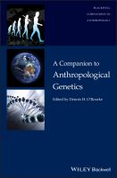 Cover image for A companion to anthropological genetics