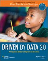 Cover image for Driven by data 2.0 : a practical guide to improve instruction