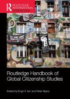 Cover image for Routledge handbook of global citizenship studies