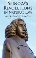 Cover image for Spinoza's Revolutions in Natural Law