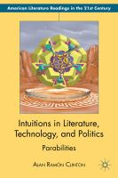 Cover image for Intuitions in Literature, Technology, and Politics Parabilities
