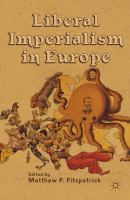 Cover image for Liberal Imperialism in Europe