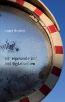 Cover image for Self-Representation and Digital Culture
