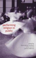 Cover image for Performing Religion in Public
