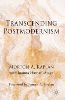 Cover image for Transcending Postmodernism