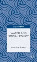 Cover image for Water and Social Policy